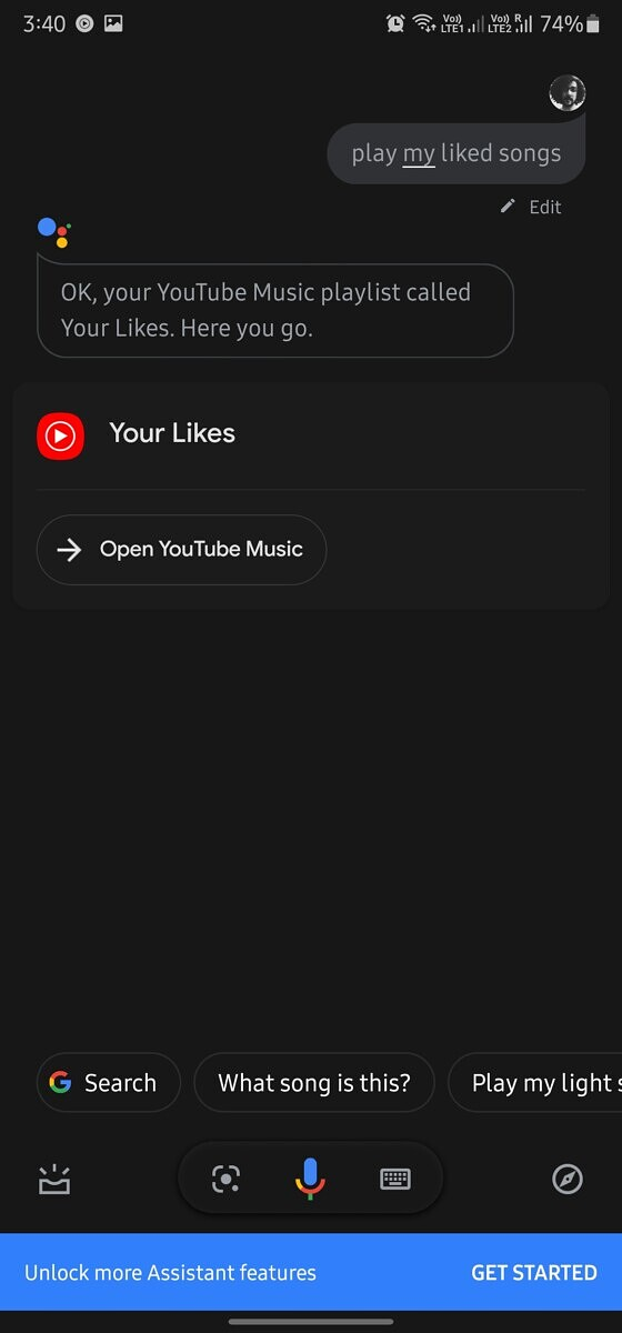 Youtube Music Is Rolling Out Personal Playlist Playback Through Google Assistant On Mobile And Casting Without Premium Membership