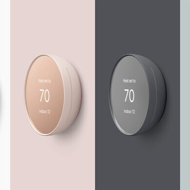 Google unveils the new Nest Thermostat with a Soli presence sensor for $129
