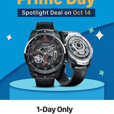 Today only, save up to $92 on TicWatches and TicPods as part of Prime Day 2020
