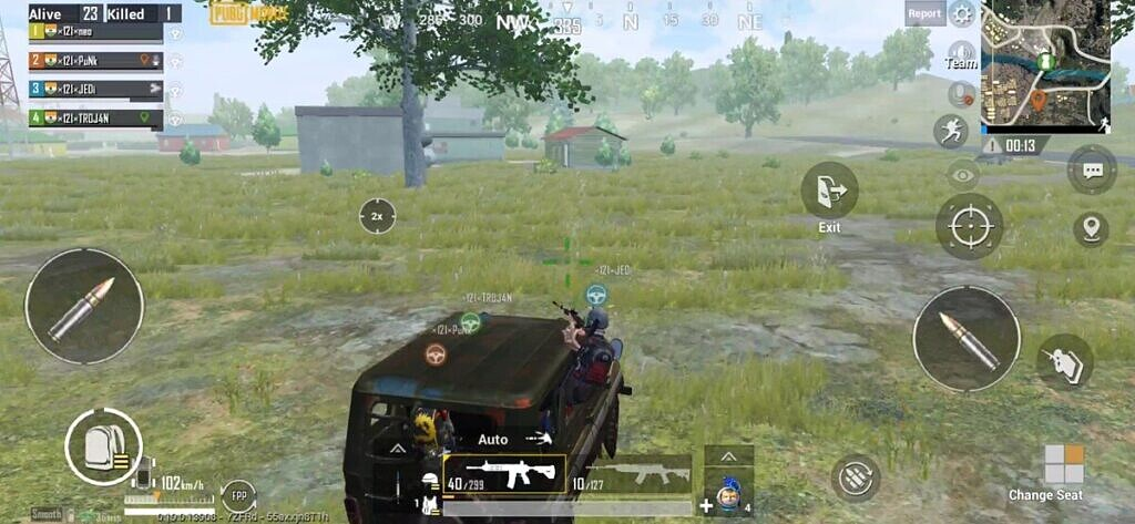 pubg mobile driving in vehicle uaz