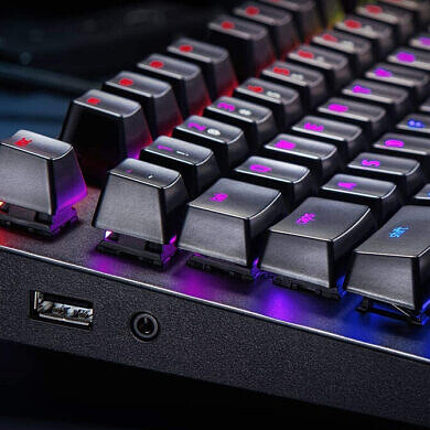 Finally get yourself the perfect gaming keyboard with the Razer BlackWidow Elite, currently half off this weekend!