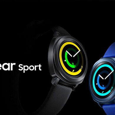 Today only at Woot!, save over $50 on the Samsung Gear Sport smartwatch
