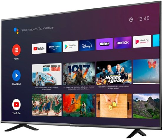TCL 55-inch 4K Smart Android TV