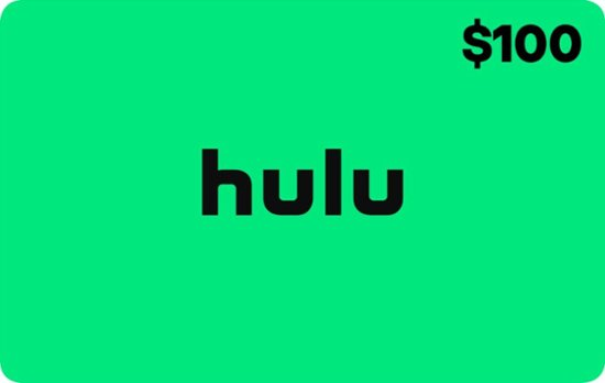 $10 Gift Card with Hulu/Netflix Gift Card Purchase