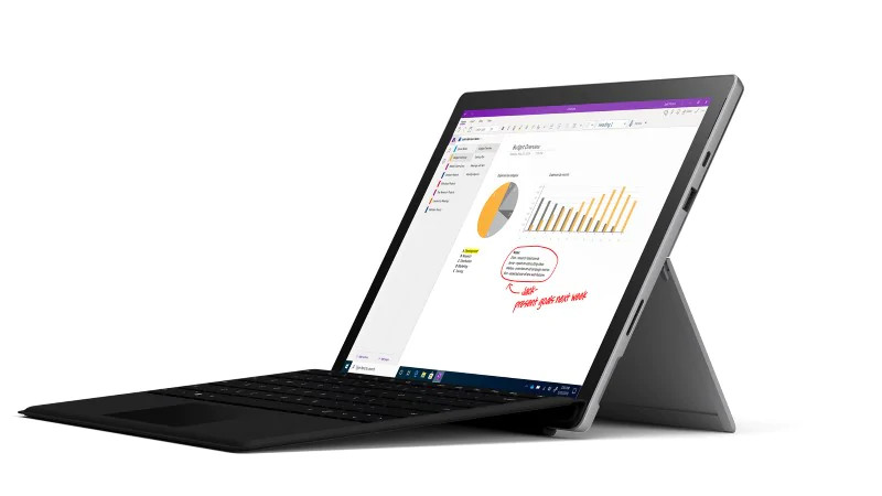 Surface Pro 7 + Type Cover Bundle