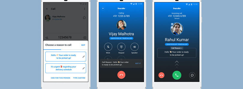 Truecaller brings Call Reason support, letting callers state their intention when calling