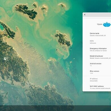 Bliss OS, an Android OS for x86 PCs, adds ARM64 emulation, Magisk support, and prepares an Android 11 rebase