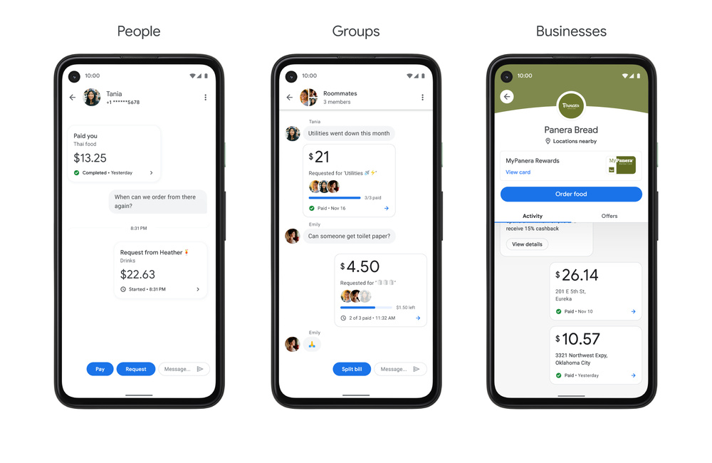Google Pay Groups