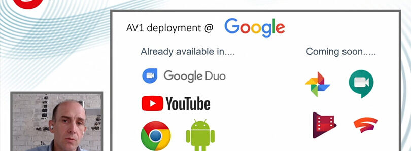 Google to use AV1 codec to improve bandwidth for Stadia, Photos, Meet, and TV