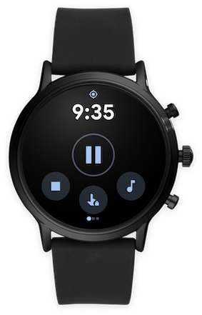 Google Fit Wear OS Touch Lock button