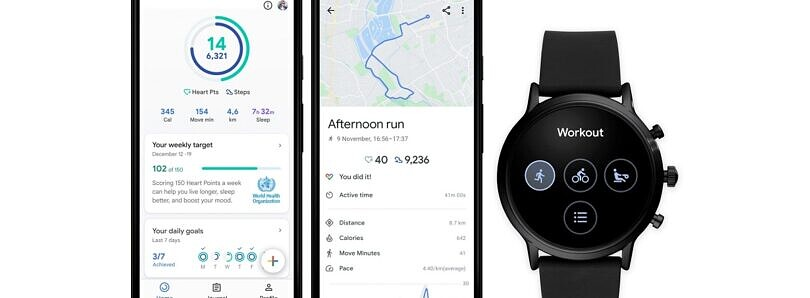 Google Fit gets a revamped home screen on Android and new Wear OS features