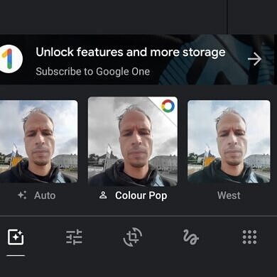 Google Photos will lock Color Pop behind a Google One paywall for photos without depth information