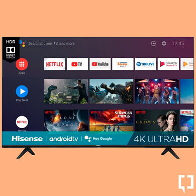 The Hisense 65″ 4K LED Android TV can be yours for just $250!