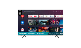 Get this large 75-inch HiSense 4K TV with Android TV for 40% off!