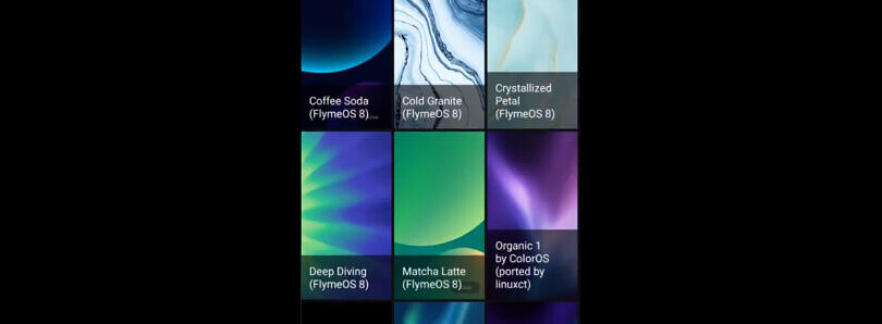 Download Meizu's Flyme OS 8 live wallpapers on any Android device