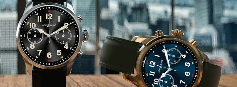 Montblanc brings its luxury Summit 2+ smartwatch with LTE to Verizon