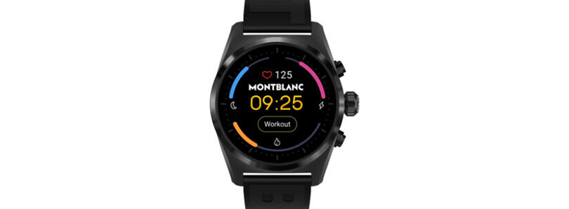 The Montblanc Summit Lite could be a more affordable smartwatch from the luxury brand