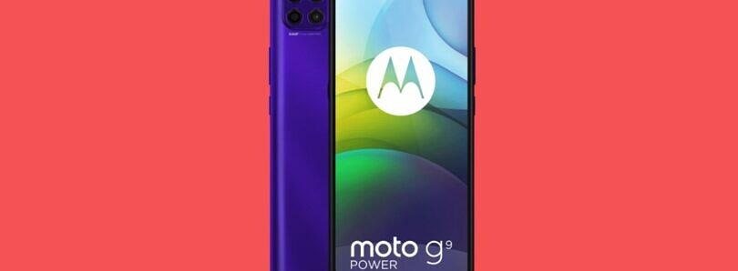 Motorola Moto G9 Power goes official with a 64MP primary camera and 6,000mAh battery