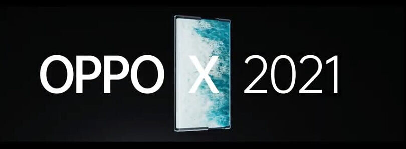 This is the OPPO X 2021, a concept smartphone with a rollable display