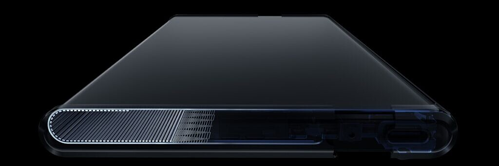 OPPO X 2021 rollable concept handset-Warp Track