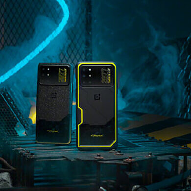 OnePlus 8T x Cyberpunk 2077 Edition presents a radical design for CNY 3999 (~$599)