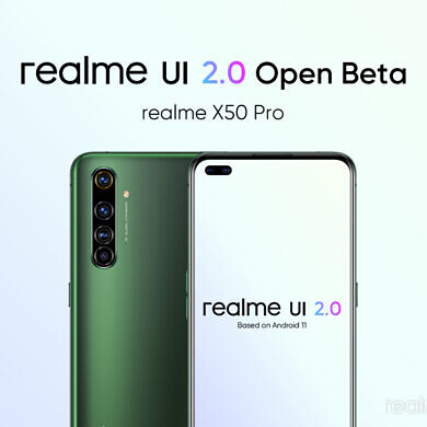 Applications open for Realme UI 2.0 Open Beta based on Android 11 for the Realme X50 Pro