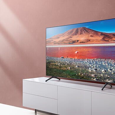 The Samsung Crystal 82″ 4K HDR TV has a $400 discount, this Black Friday