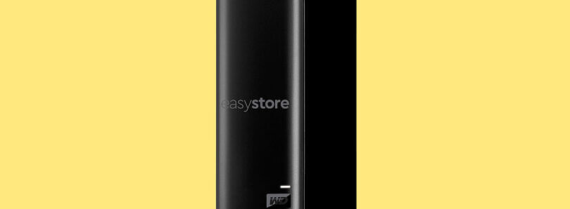 The Western Digital easystore 14TB external drive is the most storage that you can buy at $190