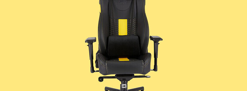 The Corsair T2 Road Warrior gaming chair is selling for $250 during Black Friday deals