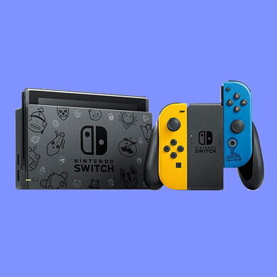 This limited edition Fortnite Wildcat Nintendo Switch is now available for $300 at Amazon
