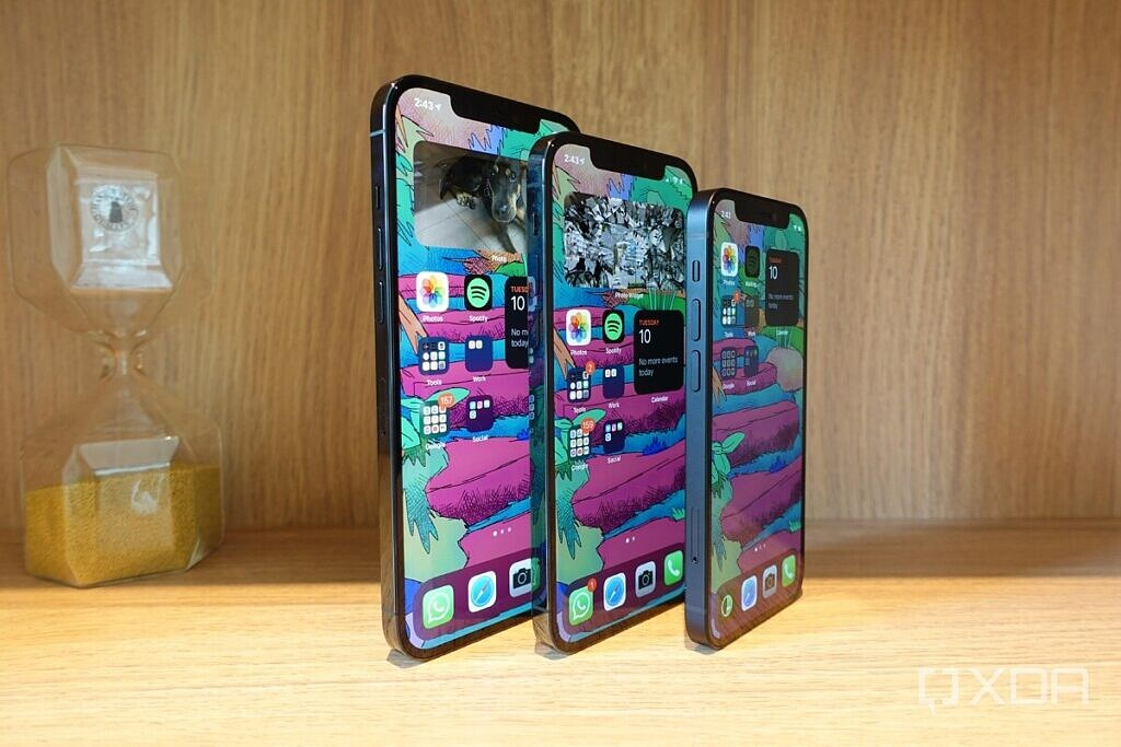 The iPhone 12 series