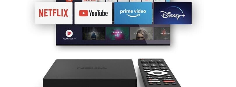 Nokia Streaming Box 8000 is a new Android TV set-top box available in Germany, Austria, and Switzerland