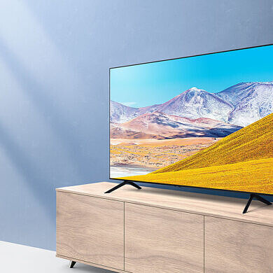 Save $100 on the Samsung Crystal UHD 4K Smart TV, today only!