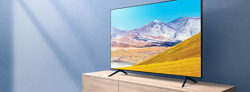 Samsung's Home Theater Black Friday event has their Crystal Smart TVs starting at just $330