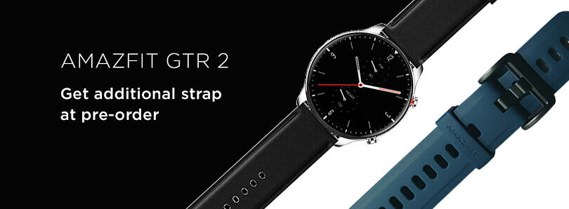 Amazfit GTR 2 with AMOLED display, blood-oxygen monitoring goes on pre-order in India