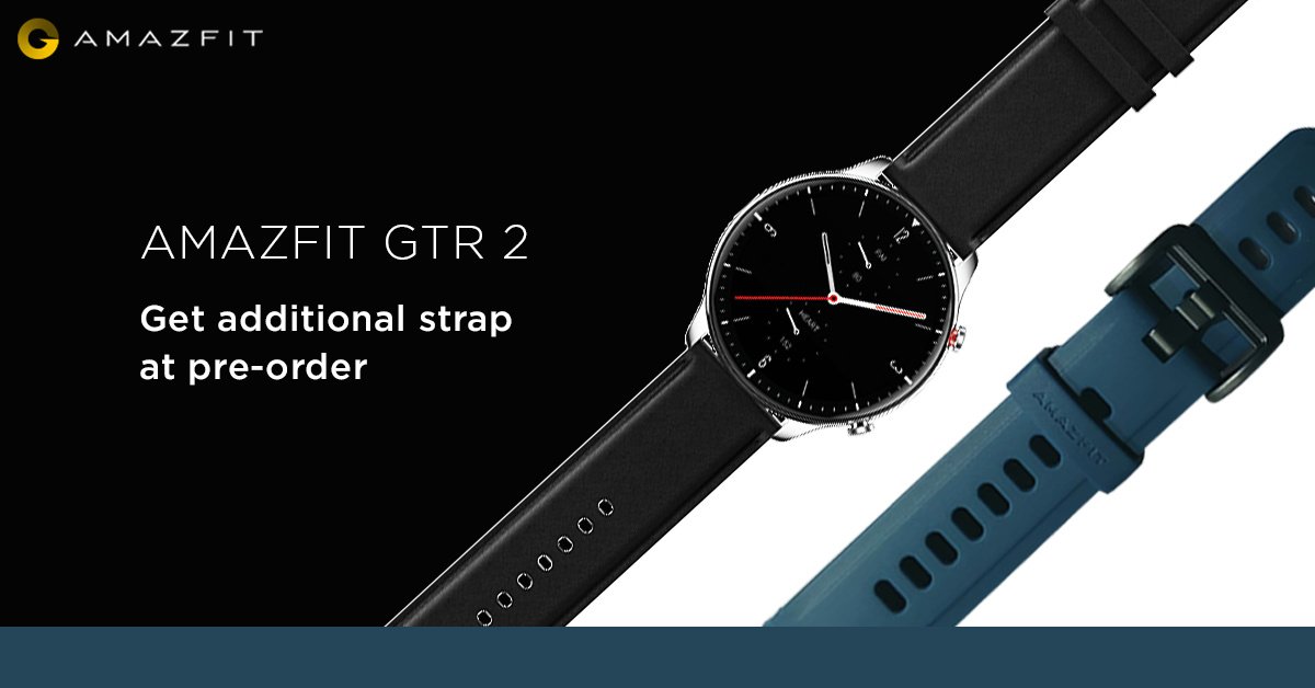 Amazfit GTR 2 now available for pre-order in India at ₹12,999