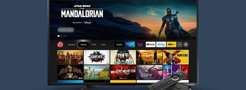 Amazon begins rolling out redesigned software for Fire TV