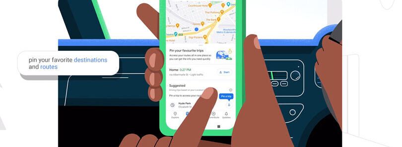 Google Maps is adding a Go tab to help you quickly navigate to frequently visited places