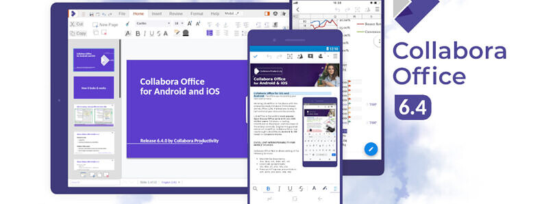 Collabora Office suite gets a new layout for Android tablets and Chromebooks