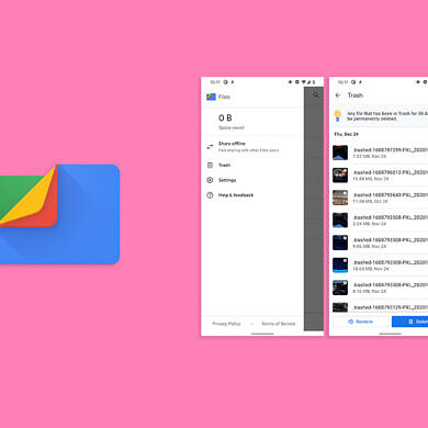 Files by Google 1.0.345 prepares to add a Trash folder for restoring deleted files
