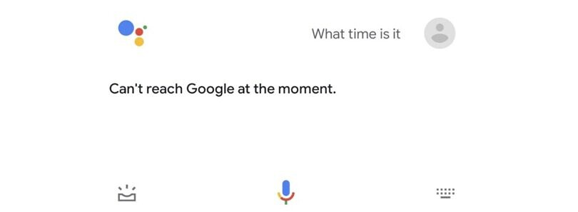 Some users are unable to use Google Assistant right now