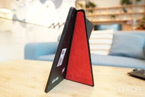The Lenovo ThinkPad Fold X1 is thin