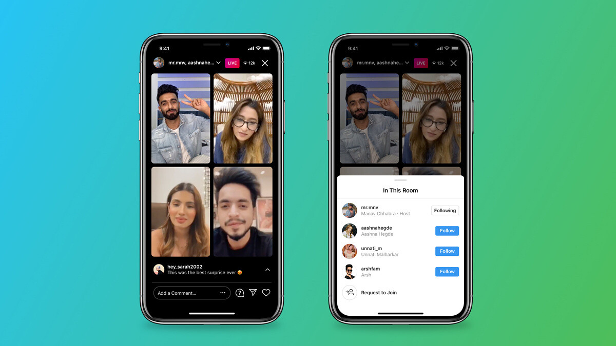 Instagram Live Rooms allows creators to add 3 users to a Live session - XDA Developers
