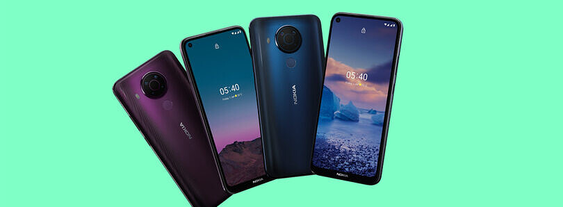 HMD Global launches Nokia 5.4 with an HD+ hole-punch display, Snapdragon 662, 48MP cameras for 189 euros