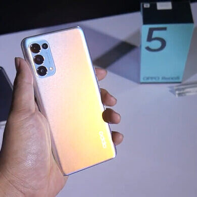 OPPO Reno 5 4G Global version detailed in a hands-on video