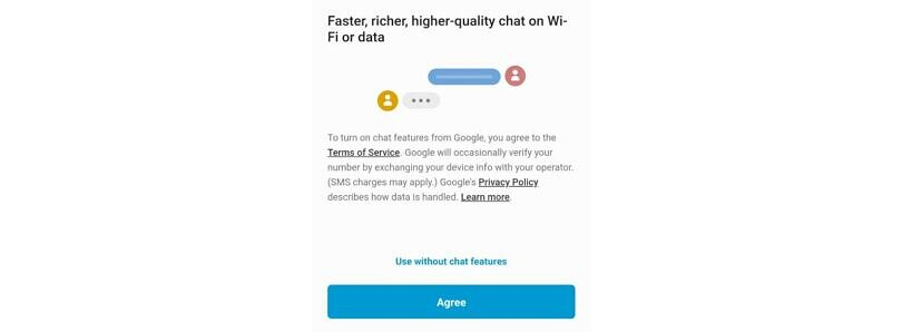 Google's RCS-based Chat features are rolling out for some in the Samsung Messages app