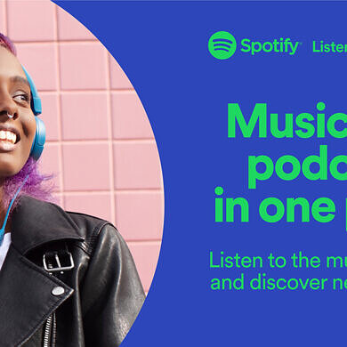 Spotify is now available on the Epic Games Store