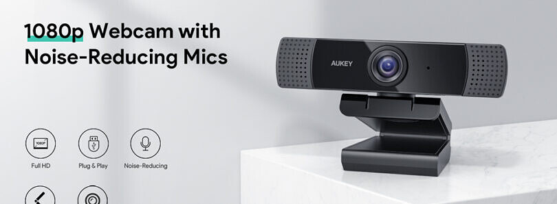 Need a webcam for work? You can pick up a quality Aukey 1080p webcam for just $28!