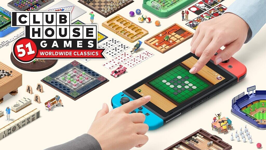 Clubhouse Games key art