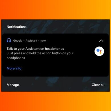 You can now use Google Assistant's spoken notifications with any wired headphone